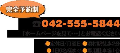 電話:042-555-5844