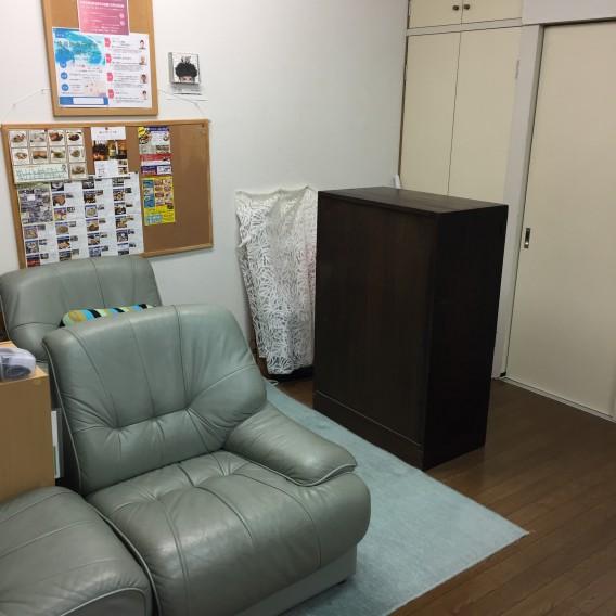 更衣室が新しく出来ました。むさしの整体療術センター